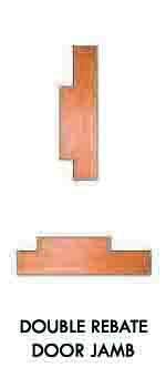 Double Rebate Door Jamb